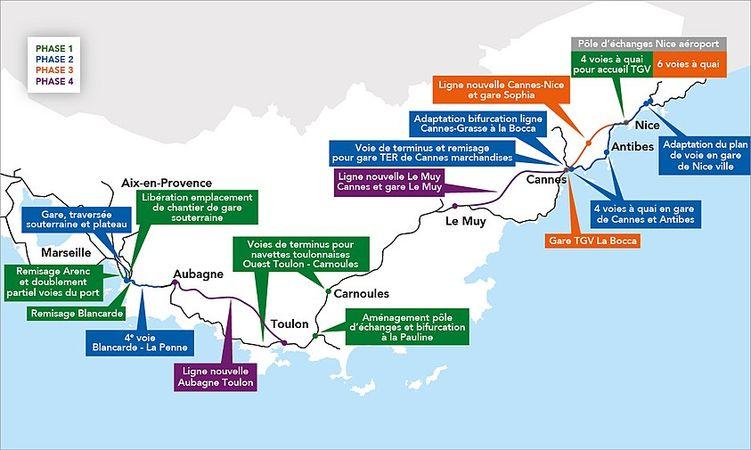 AMO des études de trafic de la Ligne Nouvelle Provence Alpes Côte d'Azur