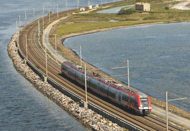 Cartographie des risques du projet de ligne nouvelle Montpellier - Perpignan